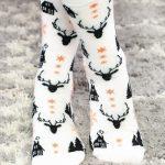 Sosete de craciun cu cerb si bradulet Socks Concept SC-NL20