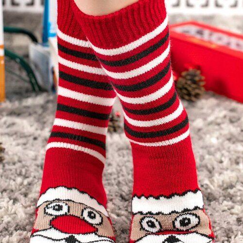 Idei Cadouri de Craciun  Sosete de craciun moi si groase de casa Socks Concept SC-1772