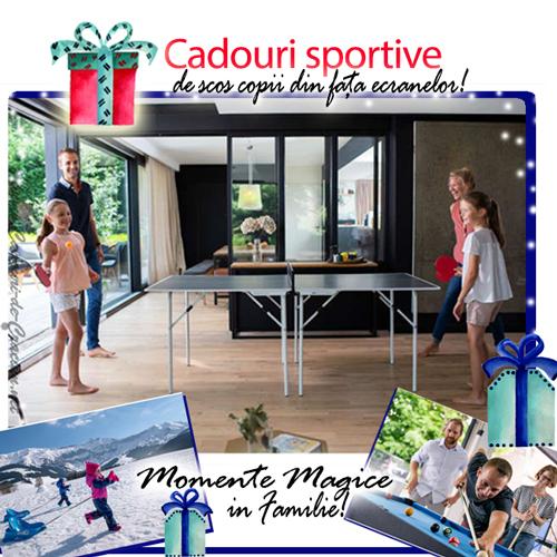 Cadouri sportive care smulg copii din fata ecranelor, top 4 cele mai dorite!