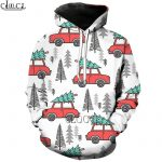 Pulovere de Craciun HX Funny Car Christmas 3D All Over Printed Unisex Hoodie Sweatshirt Zipover Pullover Casual Jacket Tracksuit Shipping Drop